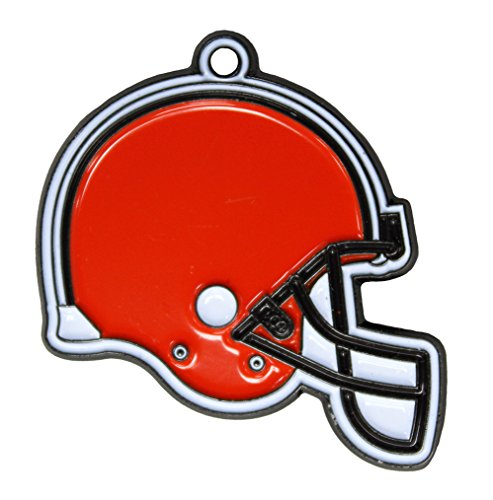 NFL Dog TAG - Cleveland Browns Smart Pet Tracking Tag. - Best Retrieval System for Dogs, Cats or Army Tag. Any Object You'd Like to Protect