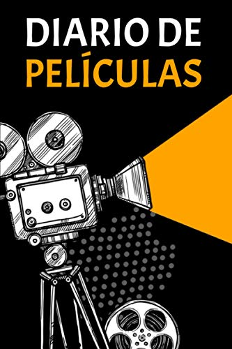 Diario de películas: Cuaderno que le permite mantener un registro de todas las películas, series, documentales - Regalo perfecto para los amantes del cine