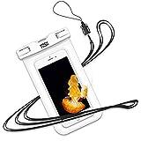 YOSH wasserdichte Handyhülle Beutel Schwimmen Tauchen Kanu Wassersport für iPhone X/8/7/6/6s Plus...