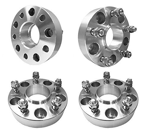 2 Years Warranty Goldenlion Wheel Spacers for Jeep KSP 4Pcs Forged 1.5 5x5 to 5x5 Thread Pitch 1//2-20 Hub Bore 71.5mm 5 Lug Hub Centric 38mm Wheel Adapters for Grand Cherokee Commander XK Wrangler JK