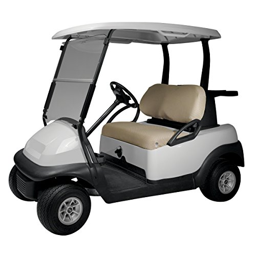 Classic Accessories Fairway Golf Cart Diamond Air Mesh Bench Seat Cover,...