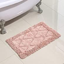 Water Absorption Rug Bath Mat Soft Dirt-Proof Mat Bath Mat Washable Soft mat (Color : Lilac, Size : 40x60cm)