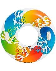Intex 58202 Zwembanden Color met handvat 3P gratis