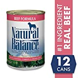 Natural Balance Ultra Premium Wet Dog Food, 13 Ounce, Pack of 12