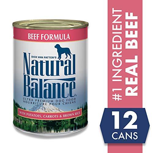 Natural Balance Beef Formula with Potatoes, Carrots & Brown Rice
