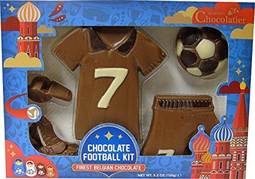 Tenue de Football de Coupe de Monde en Chocolat au Lait - 150g - Chocolat de Nouveauté