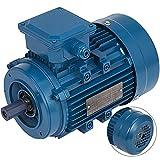 Mophorn Motor Eléctrico Trifásico Motores Électricos de Alta Calidad Motor Hormigonera Base Rígido 3 Fases B14 1500RPM 400V Voltaje 2 Polos Potencia 0.75KW