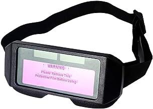 yotijar Máscara de Solda com Escurecimento Automático Alimentado Por Energia Solar Óculos de Proteção E óculos Anti-reflexo
