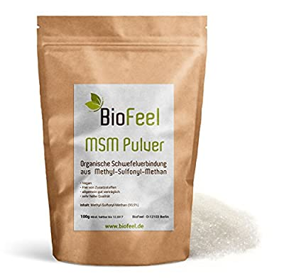 BioFeel - MSM Pulver, 100g