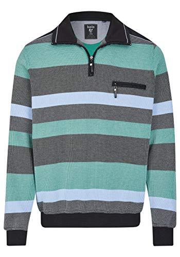 hajo Polo & Sportswear Herren Sweatshirt mit Troyerkragen