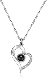 Best heart shaped couple necklace Reviews