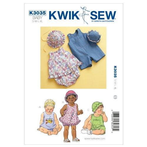 Kwik Sew K3035 Sundress Sewing Pattern, Bloomers by KWIK-SEW PATTERNS