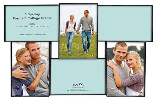 MCS Format Rahmen Collage, 3Öffnungen, One 5von Bluetooth, Zwei 4von 6, schwarz 6 Eröffnungscollage schwarz