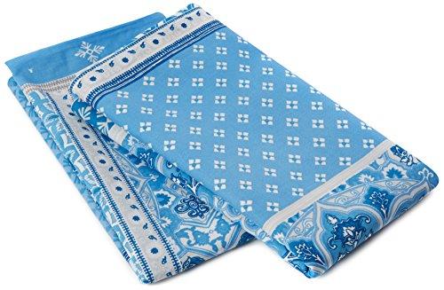 Dreams & Drapes Shantar Cojín Adicional, Color Azul, Azul, Pair of Additional Pillowcases