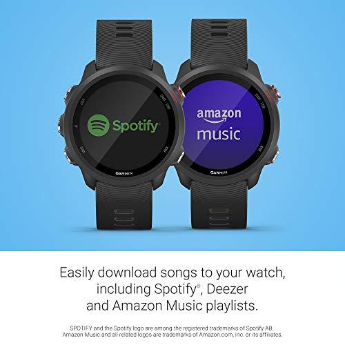 Garmin Forerunner 245 Music, GPS Running Smartwatch with Music and Advanced Dynamics, Black