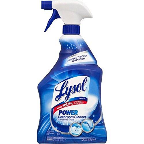 Lysol Bathroom Cleaner - Trigger Island Breeze 32 oz (Pack of 6)