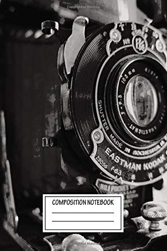 Composition Notebook: Inspirational Anastigmat Photography Wide Ruled Note Book, Diary, Planner, Journal for Writing
