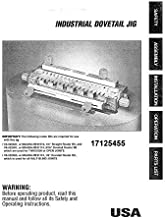 Craftsman 17125455 Dovetail Jig Owners Instruction Manual Reprint [Plastic Comb]