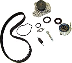 DNJ TBK220WP Timing Belt Kit with Water Pump for 2001-2005 / Honda/Civic / 1.7L / SOHC / L4 / 16V / 1668cc, 1700cc / D17A1, D17A2, D17A6, D17A7