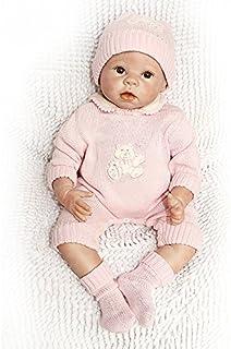 106bf69c987 Nicery Bébés Reborn Poupée Realiste Silicone Souple en Vinyle pour Les  Garçons et Les Filles Anniversaire