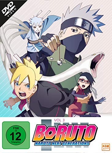 Boruto: Naruto Next Generations, Vol. 3 [3 DVDs]
