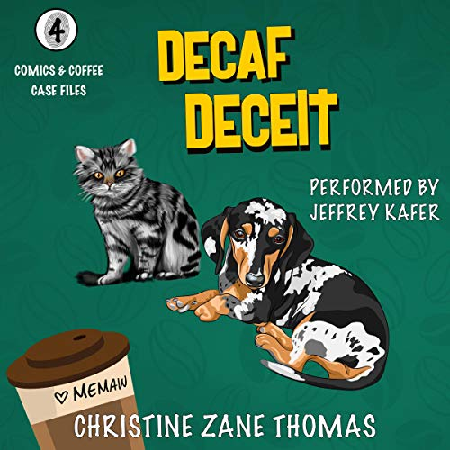 Couverture de Decaf Deceit