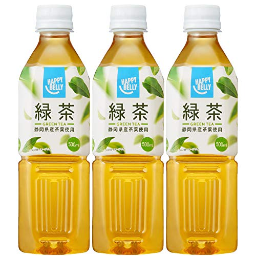 Amazon Happy-Belly 緑茶 500ml×3本
