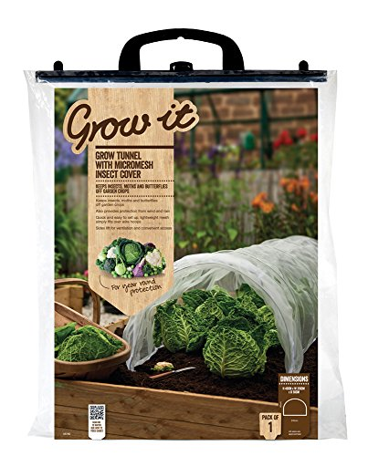 Gardman 08780 Tunnel de Culture en Filet Contre Les Insecte 56 x 5 x 62 cm