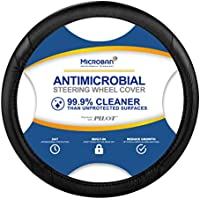Pilot Automotive MIC-001E Antimicrobial Microban-Infused Universal Car Steering Wheel Cover