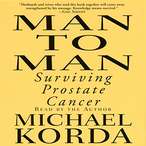 Man to Man: Surviving Prostate Cancer audiobook cover art