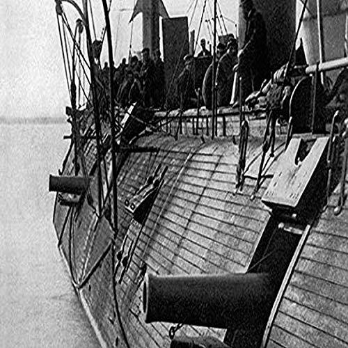 "Buyenlarge USS Galena Ironclad - 8"" X 12"" Fine Art Giclee Print -  Buyenlarge -- DROPSHIP, 0-587-05908-7-G812"