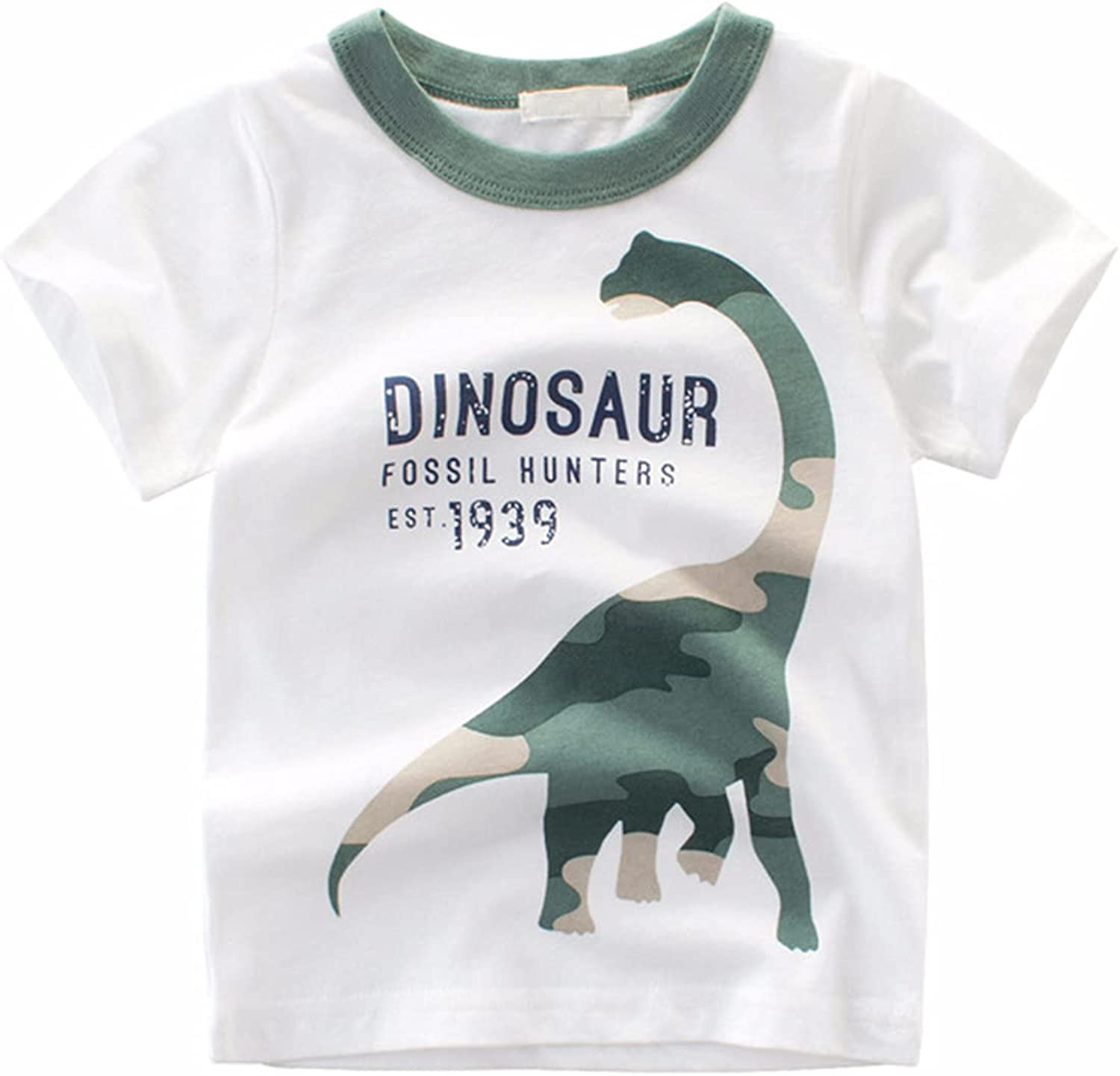 Ucoolbila Toddler Boys' Short-Sleeve Children' T-Shirts Manufacturer regenerated New products, world's highest quality popular! product Rabirtal