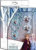 Disney Frozen- Set bisuteria 2 Joyería y Maquillaje (Kids WD20778)
