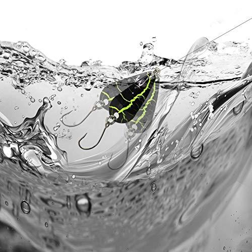スプーンルアースパンコール12個セット釣り用ルアーキット管釣り渓流釣りトラウトニジマスイトウブラウンイワナヤマメ