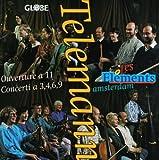 Overture/Concerto 2 Flutes/Violin/Cello/Concerto Recorder/B