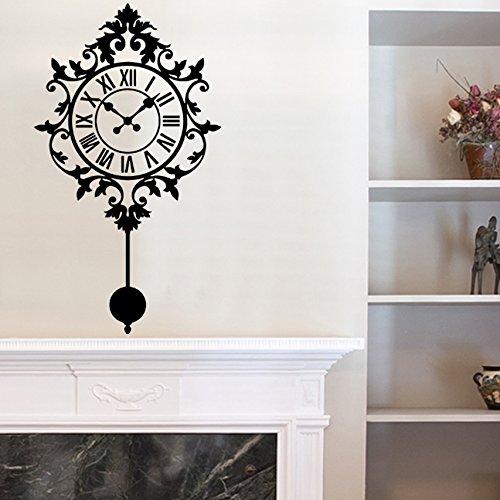 Vinyle décoratif Horloge pendule ornement \