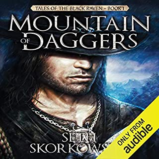 Mountain of Daggers audiobook cover art