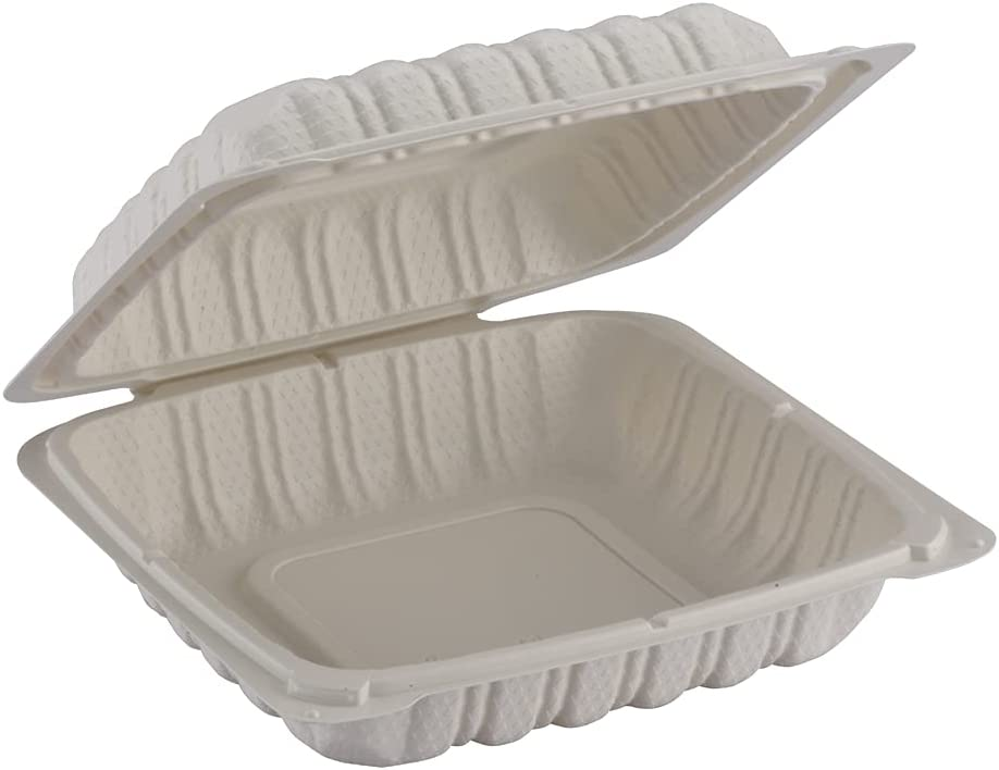 TIYA Over item handling Clamshell Food Containers - To-Go Free Storage Animer and price revision BPA Plastic