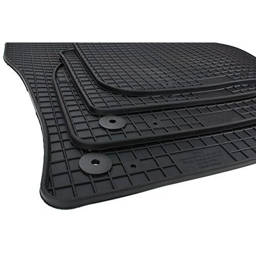 Original Skoda Gummimatten Fußmatten Gummi schwarz vorne Kodiaq NS 566061502A