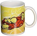 Zak! Designs - Tazza in ceramica con grafica Marvel Comic Ironman, 326 ml