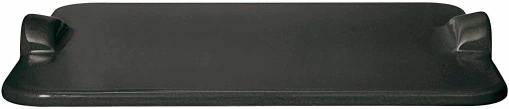 Emile Henry Made In France Flame BBQ Rectangular Grilling Baking Stone, 18 x 14