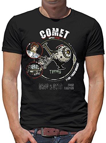 TShirt-People Comet Tycho T-Shirt Herren XL Schwarz