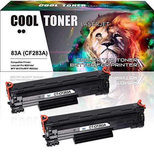 Cool Toner Compatible Toner Cartridge Replacement voor HP 83A CF283A Toner voor HP Laserjet Pro MFP M125nw M127fw Toner HP MFP M127fn M125a M225dn M127fs M128fw HP M125a M127fs HP M201dw M201n