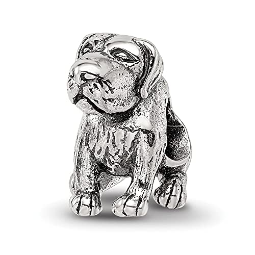 925 Sterling Silver Charm For Bracelet German Shorthaired Pointer Bead Animal Fine Jewelry For Women Gifts For Her