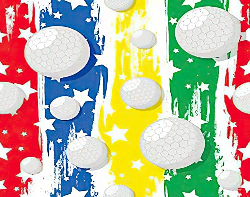 MQPPE Golf 5D DIY Diamond Painting Kits, Golf Theme Aspiration Ball Bet Blot Blue Championship Competition Daub Full Drill Painting Arts Set Craft Canvas for Home Wall Decor Adults Kids, 16' x 20'