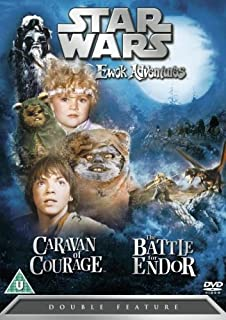 Star Wars: Ewok Adventures - Caravan of Courage / The Battle for Endor [DVD] by Aubree Miller