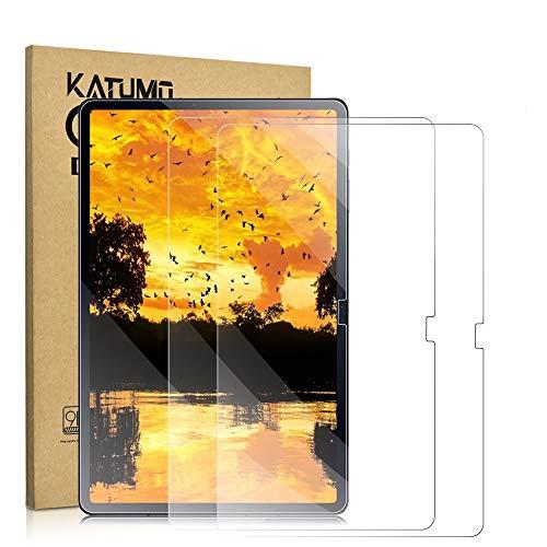 KATUMO 2 Stuck Displayfolie Samsung Galaxy Tab S7 124 Zoll Panzerglas Folie fur Tab S7 Plus Displayschutzfolie 9H Harte Glas fur SM T970T975