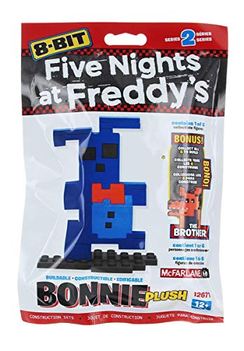 McFarlane Toys 12671-6 Five Nights at Freddy's 8-Bit Buildable Figures Building Kit