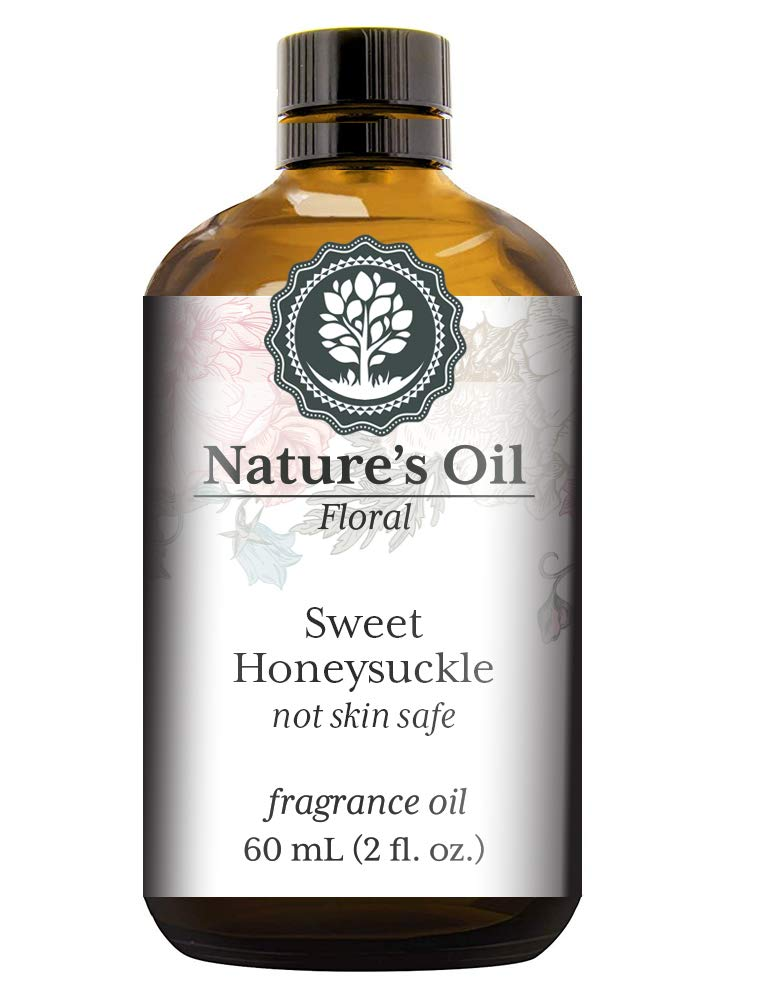 Sweet Honeysuckle Fragrance Oil 60ml H For New item Diffusers Super beauty product restock quality top! Candles