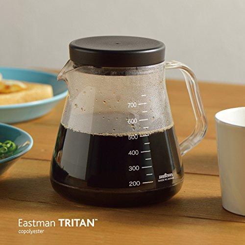 曙産業トライタン樹脂製割れにくいコーヒーサーバーストロンホワイトTW-3725